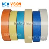 High Temperature Resistance Crepe Paper Masking Tape For Car Painting
