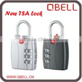 Cheap And High Quality 3 digital combination TSA lock ,Luggage zipper Lock