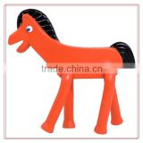 Custom pvc horse design plastic bendable toys can be provided free sample/OEM&ODM factory price animal design bendable toys