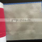 polyester shiny embossed blackout fabric for curtain, shiny blackout fabric for African curtain china textile fabric supplier