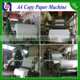 Alibaba china supplier 2400mm a4 copy paper production line,exercise book making machine