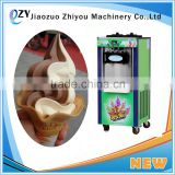 ZY Customized Soft Ice Cream Machine with New Technology/fried soft Italian serve ice cream making machine(0086-391-2042034)