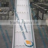 Modular Belt Conveyor (Lifter with Baffle)