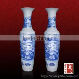 Home goods bule white antique porcelain decorative vases made in china