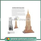 Fancy Non-toxic toy World Architecture Custom Super 3D Puzzle--ENPIRE STATE BUILDING