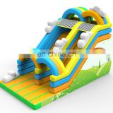 High quality Attractive Popular Dual Rainbow Inflatable Slide Combo Castle, Inflatabl Bouncing House Slide, Inflatable Jump