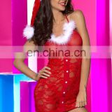 New wholesale fancy Christmas dress,Sexy Christmas lingerie ,Sexy costume Christmas Red lace sexy women Christmas costume
