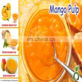Kesar Mango Pulp Tin Packing