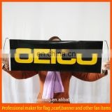 Wholesale polyester promotional retractable scroll banner