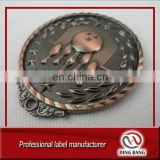 Professional 3D Medallion And Trophy Type Creative Bowling Metal Souvenir Custom Antique Bronze Medal
