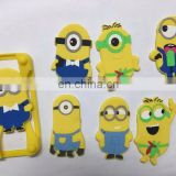 Hot sale New Products Cartoon animal Shape Silicone Phone Case For 2016 fashion case for any mobile