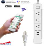 Firstsing Soundance Wifi Smart Socket Power Strip with 2 USB Charging Ports For iPhone Android Smartphone
