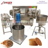Industrial Factory Price Stroopwafel Line Rolled Sugar Cone Machine Waffle Ice Cream Cone Making Machine