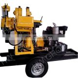 oil drilling machine/diesel water well drilling rig portable drilling rig with diesel engine