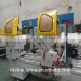 Aluminum windows and doors double angle sawing machine/dooor and window double angle thread rolling machine