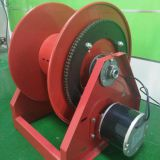 24 V AC Motor Driven 100 ft. Heavy Duty Hose Reel Air motor driven cable reel
