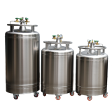 High quality 100L liquid nitrogen storage cryogenic container for cryotherapy