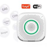 Tuya Home Smart Gas Detector Wifi Gas Sensor LPG Natural Gas Alarm Detector