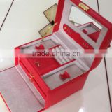 Luxury pu material exquisite jewellery box NS-SH650                                                                         Quality Choice