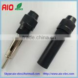 without welding car antenna plug male,car antenna female jack,Motorola CONNECTOR car TV,car radio,audio equipment