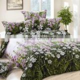 adult cotton 133x72 flower 3D disperse reactive printing bedding set