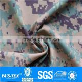 100% Nylon Camouflage Print Bonded Fabric Ripstop Waterproof Nylon Fabric Sports Clothing Fabric