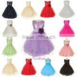 Baby Girl Dress 2016 Summer Sequin Baby Girl Clothes Princess Tutu Children's Dresses Kids Clothes Wedding Dress