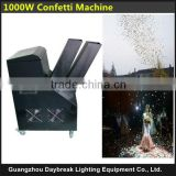 110V/220V 1000w confetti machine colorful confetti paper spray equipment stage celebration with Remote Control