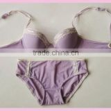 Fashion Bra W/ Brief Set, Underwear Sets