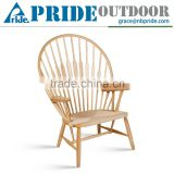 Simple Modern Dining Classic Wooden Chair Designs High Back Throne Peacock Chair
