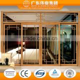 Wooden aluminum used sliding glass doors sale                                                                                                         Supplier's Choice
