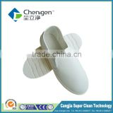 PU material Cleanroom work shoes white color