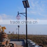 High quality led uv protection high power solar garden lamp