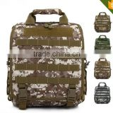 Durable tactical computer backpack sports Nylon computer bag long strap messenger bag military hiking