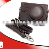 ONE high quality PU leather Hard Case for CANON POWERSHOT S90