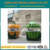 Outdoor Fiberglass Buffet Orange Kiosk watermelon type food kiosk FRP Food Kiosk