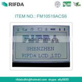 FSTN transflective 128x64 graphic lcd display module