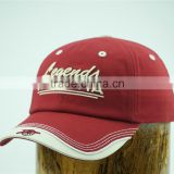 ODM 3D embroidery baseball hats caps made in china