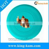 Custom dog frisbee Silicone frisbee for dog soft pet frisbee