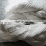 recycle cotton/polyester yarn in hand