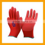 Wholesale Polyester Shell Latex Foam Coated Safety Work Gloves                                                                         Quality Choice