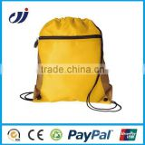 Custom printing backpack gym drawstring bag custom silk drawstring bags gym print backpack bag