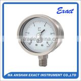 Heavy Duty All Stainless Steel Liquid Filled Manometer