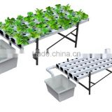 2016 NEW PVC-U NFT Hydroponics System For Aquaponics for greenhouse/indoor planting system/garden decoration/