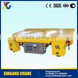 Automation Electic Flat rail Car for Mining