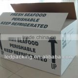 Waxed Corrugated Box For Seafood