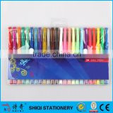 gel pen with best selling pen 24 color gel pen 60 gel pen 100 gel pen
