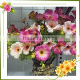 Artificial Glitter Flowers For Christmas Decoration