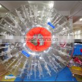 high quality inflatable grass ball/ inflatable human body zorb ball for sale