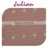 white dot on pink N4020 urlt thin nylon spandex woven bandage fabric